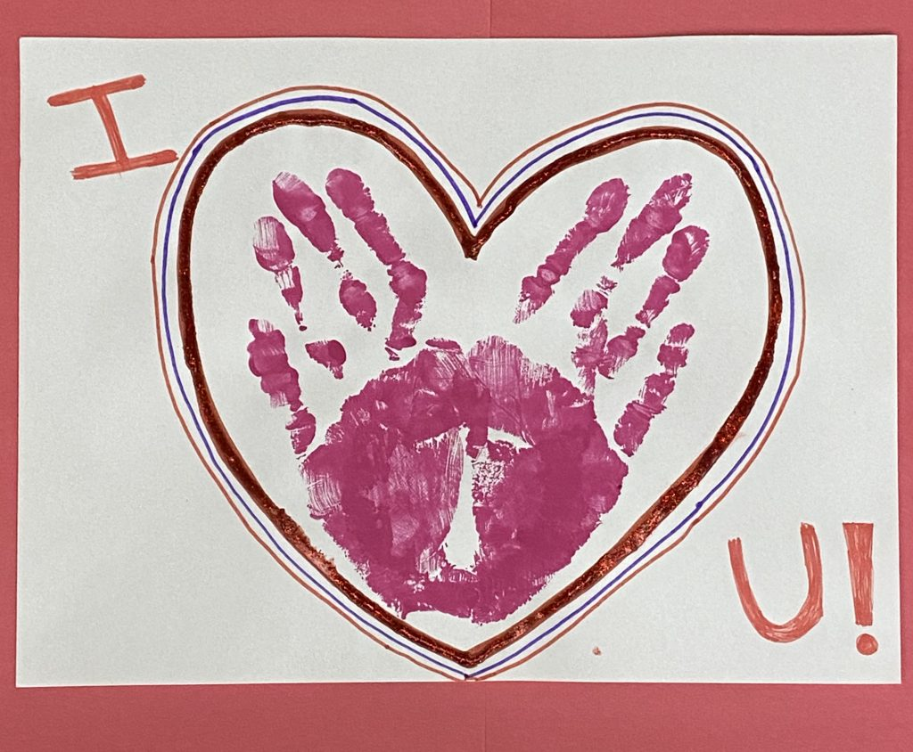 This Valentine's Day activity is fun and engaging for children with special needs!