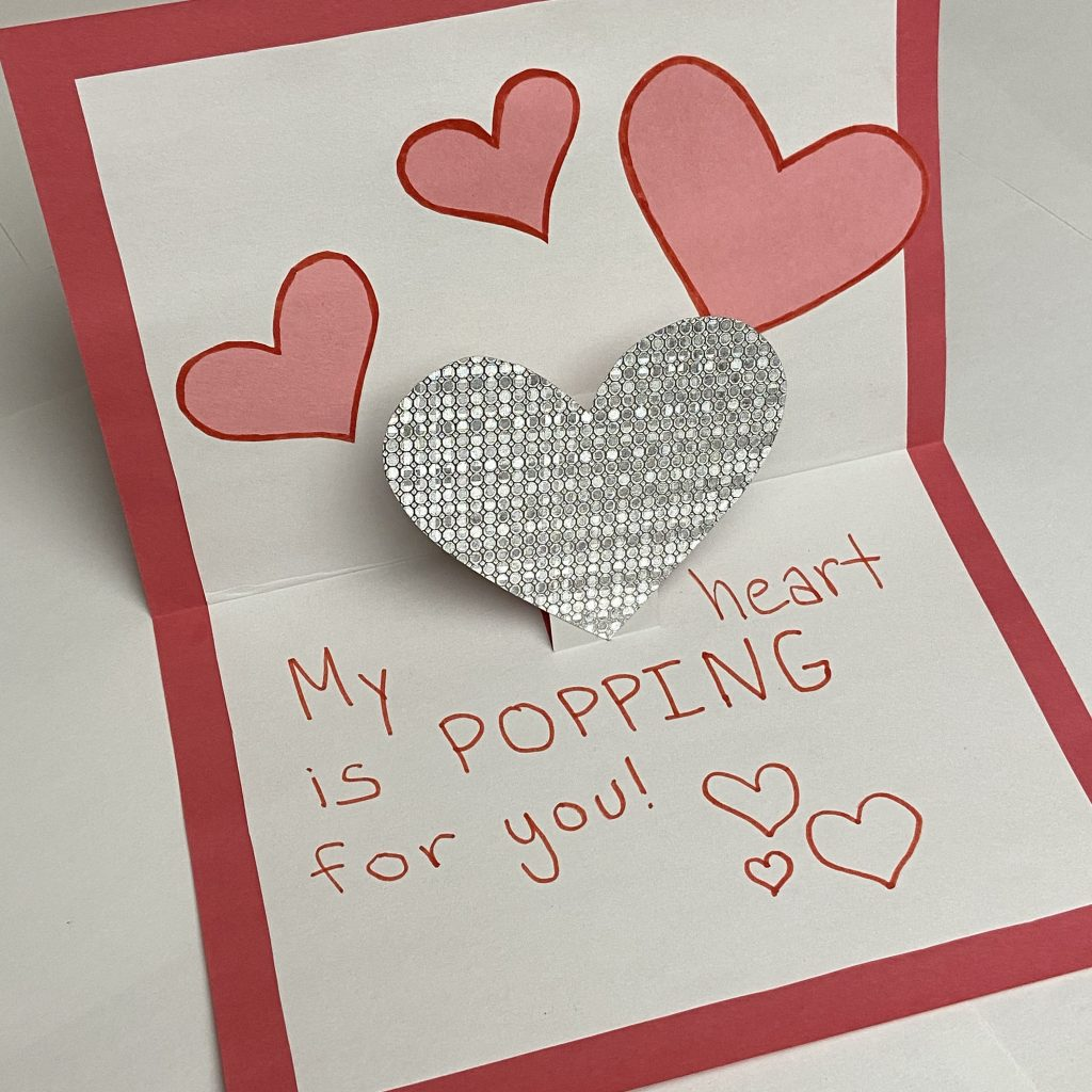 Valentine's Day Crafts for Special Needs by NAPA child therapist!